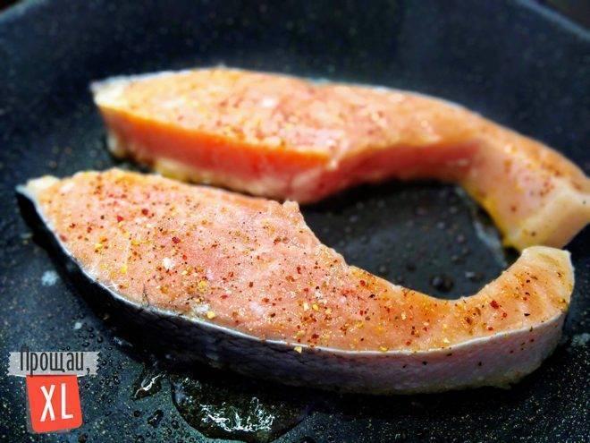 Лосось на сковороде — лучшие рецепты. как правильно и вкусно приготовить лосось на сковороде.