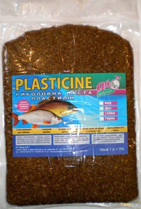Что такое рыболовный пластилин?