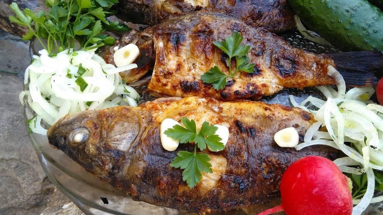 Шашлык из рыбы (30 рецептов с фото) - рецепты с фотографиями на поварёнок.ру