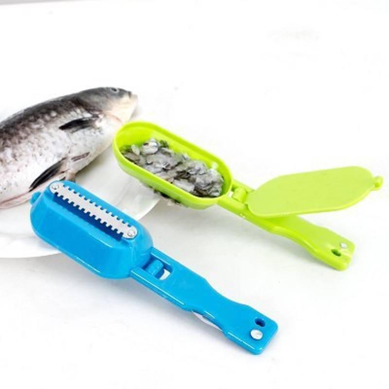 Как легко удалить чешую с помощью ножа для чистки рыбы
