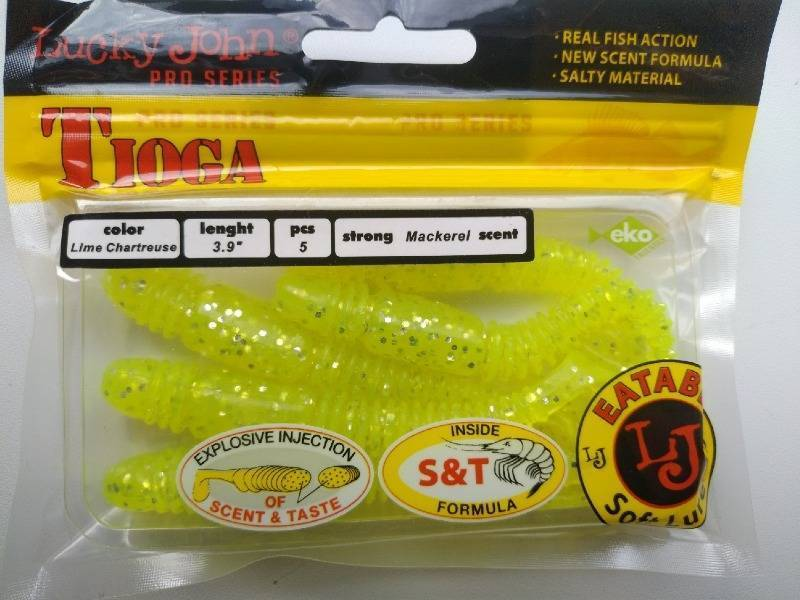 Лаки джон тиога: отзывы, цвета силиконовых приманок lucky john tioga, размеры