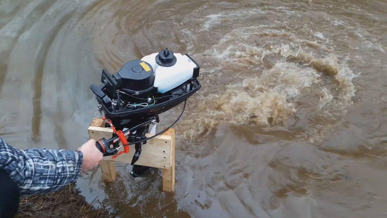 Как обкатать лодочный мотор правильно (двухтактный, четырехтактный) - видео