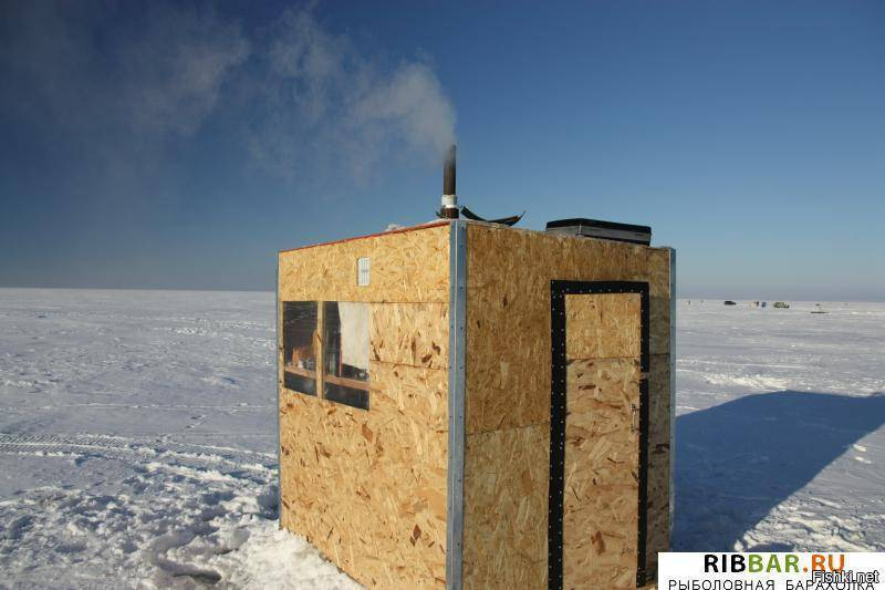 Домик для рыбалки на льду своими руками - вместе мастерим