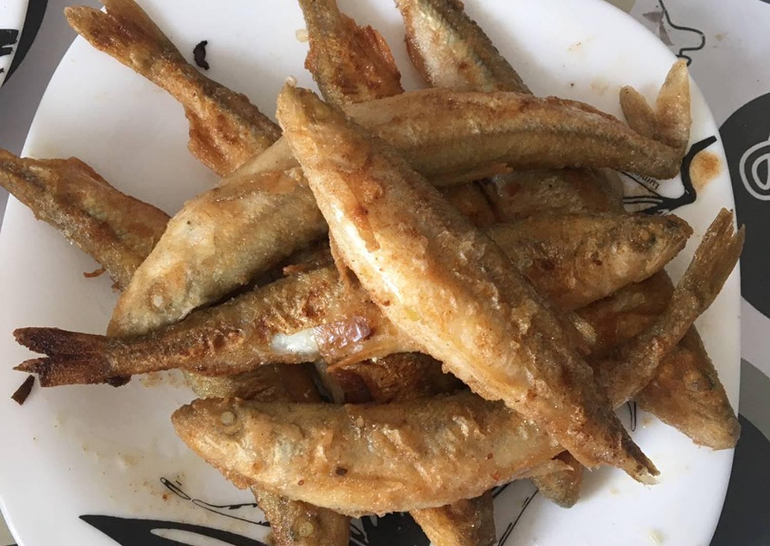 Как правильно пожарить рыбку корюшку