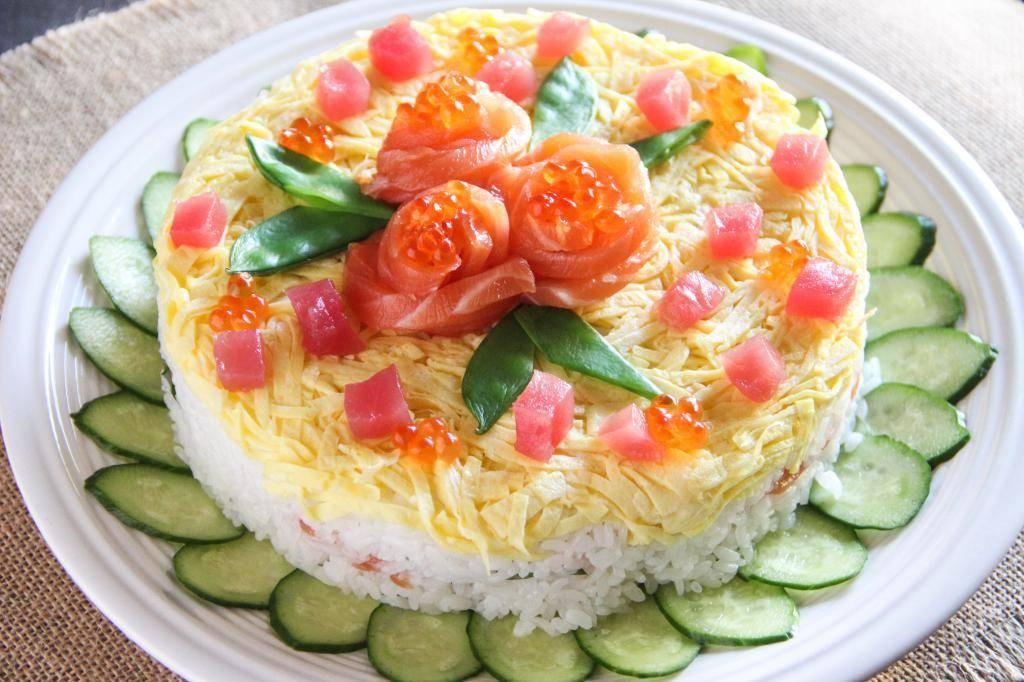 Салат с красной рыбой. 12 пошаговых рецептов вкуснейших салатов к празднику