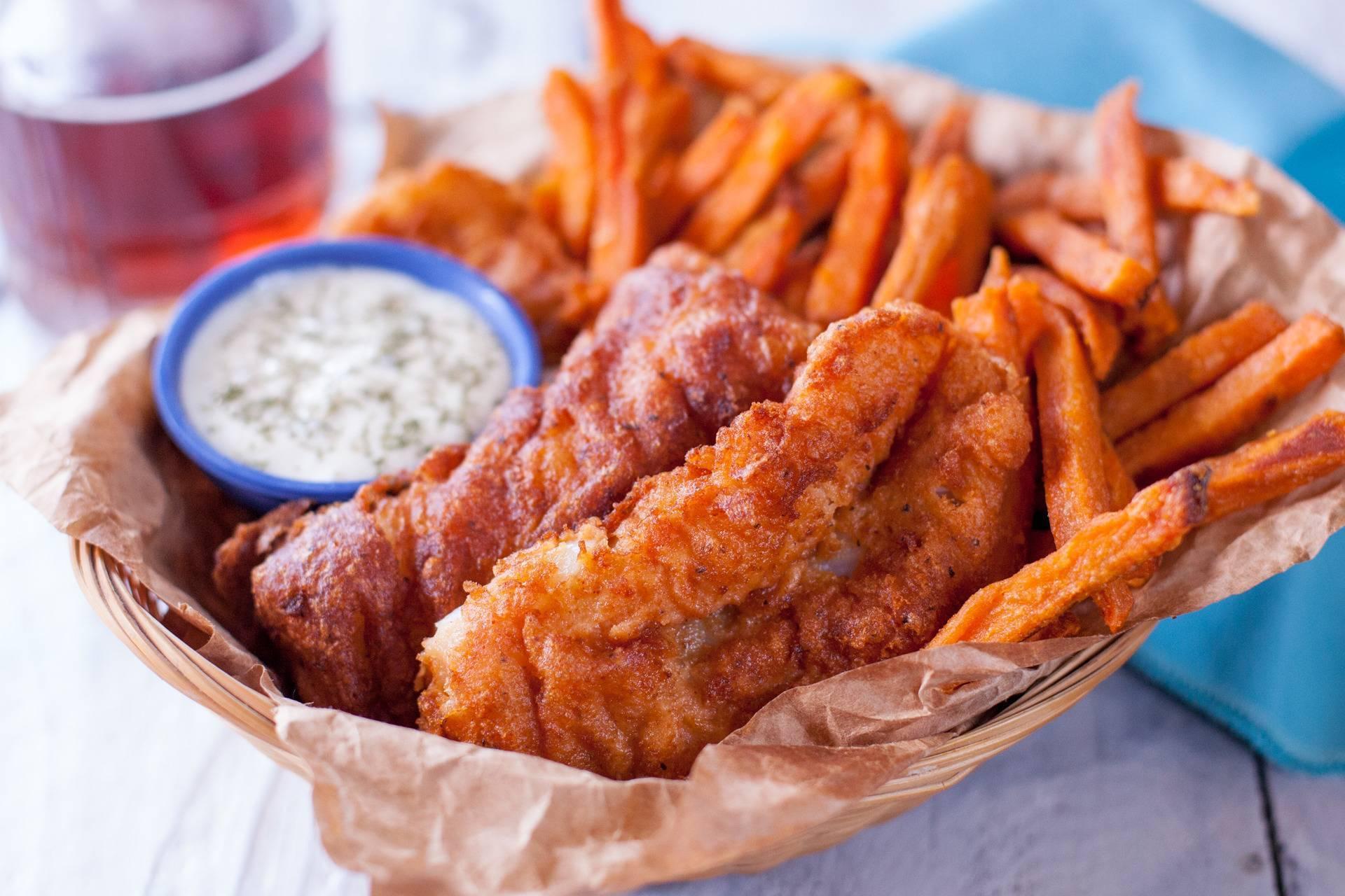 Рецепты кляра на пиве для рыбы: пошаговые простые варианты, в том числе классический, обжарка и рекомендации