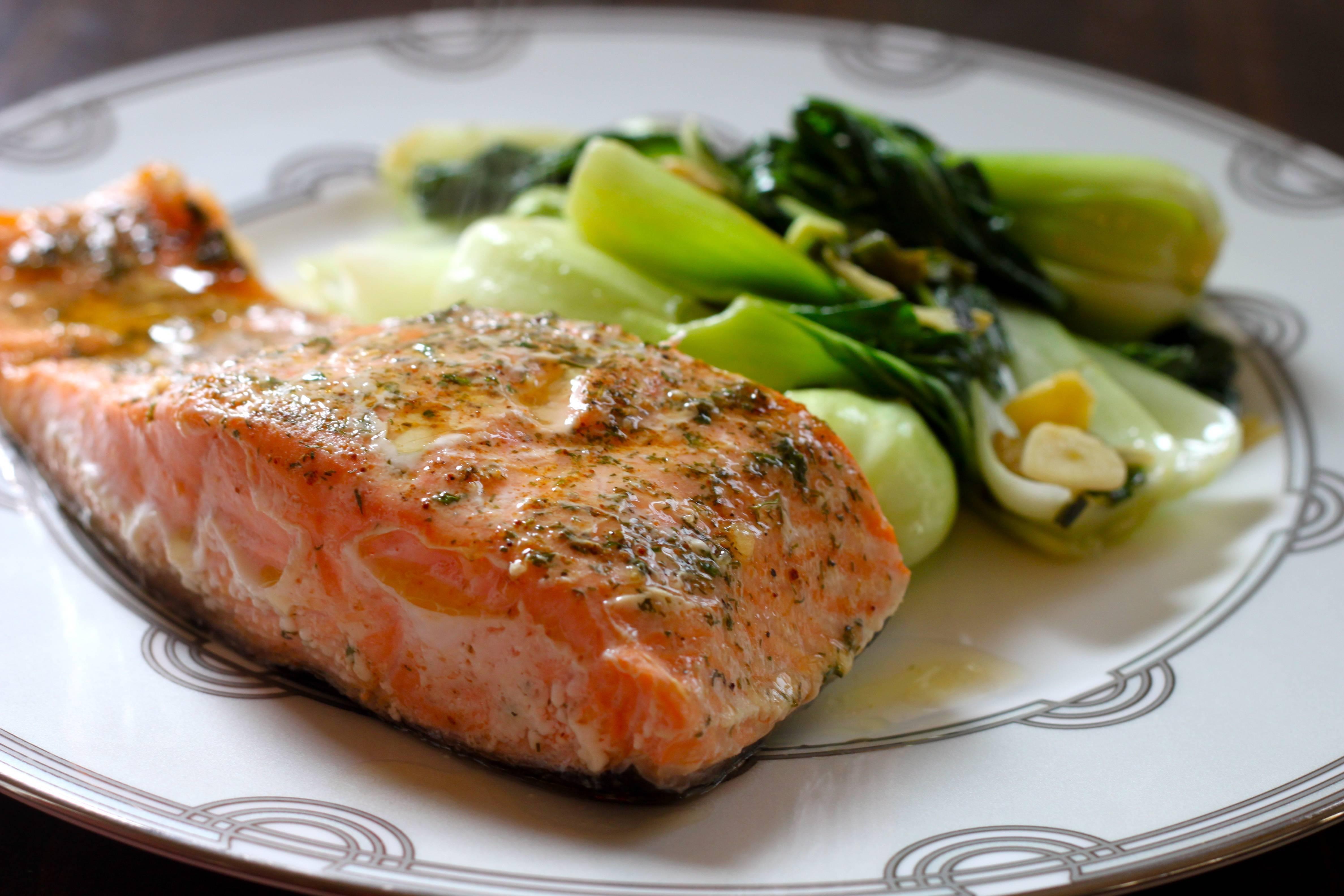 Лосось в духовке / блюда из лосося / tvcook: пошаговые рецепты с фото