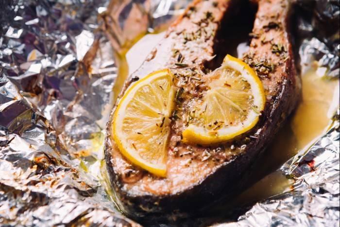 Запеченный лосось – кулинарный рецепт