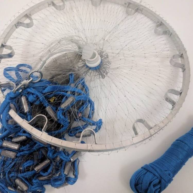 Все о кастинговых сетях с большим кольцом
