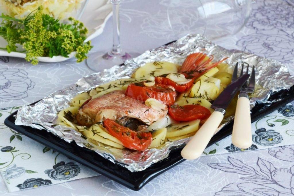 Рецепты морского окуня в духовке