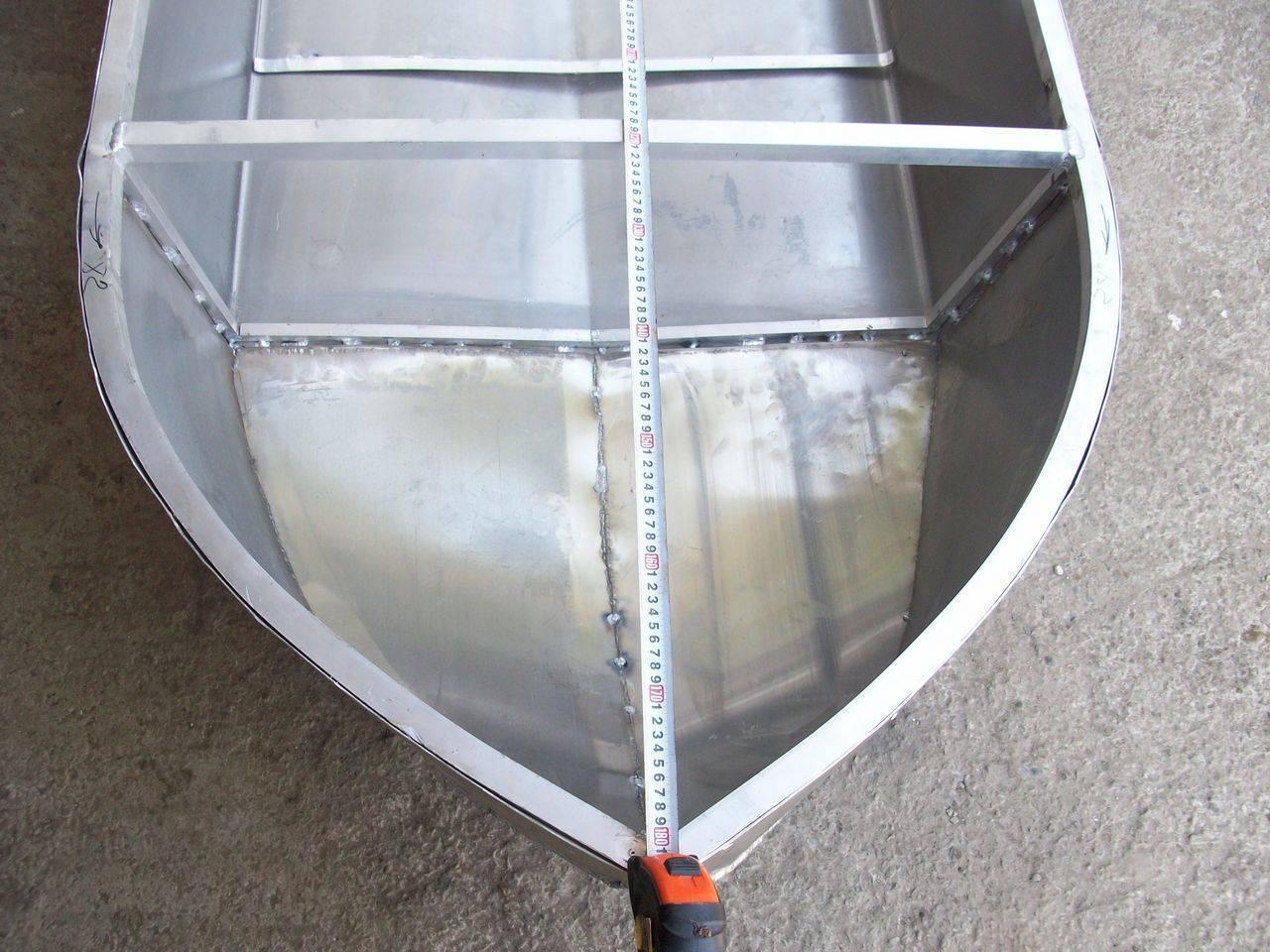 Тюнинг алюминиевых лодок своими руками