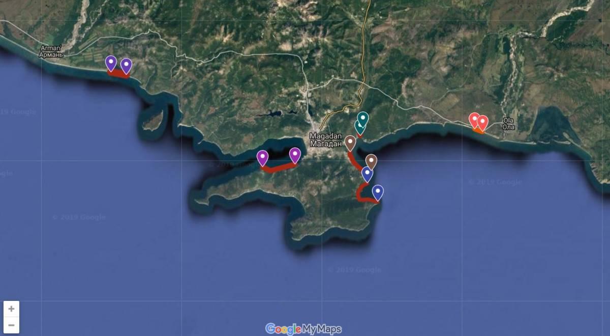 Рыбалка в Магаданской области: лучшие места на карте ТОП-10
