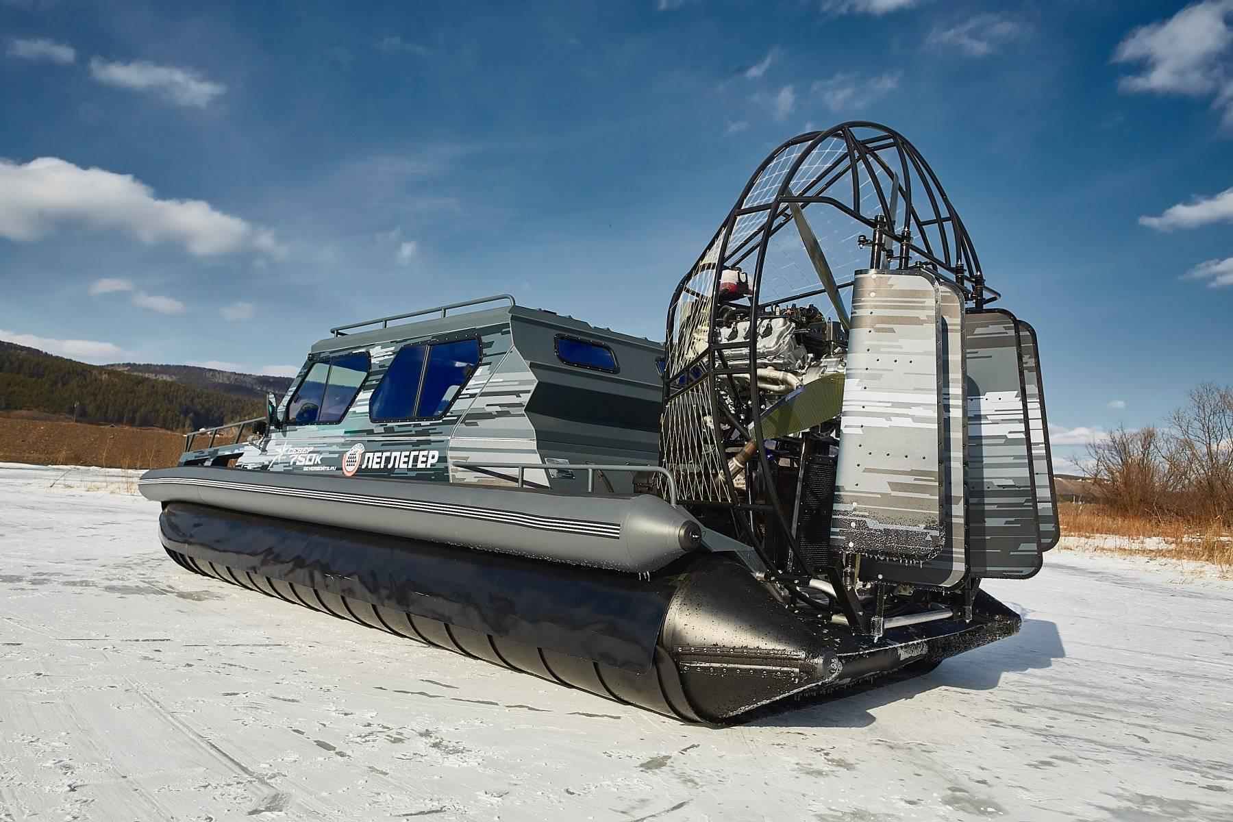 Премиальные аэролодки для преодоления водных препятствий с комфортом