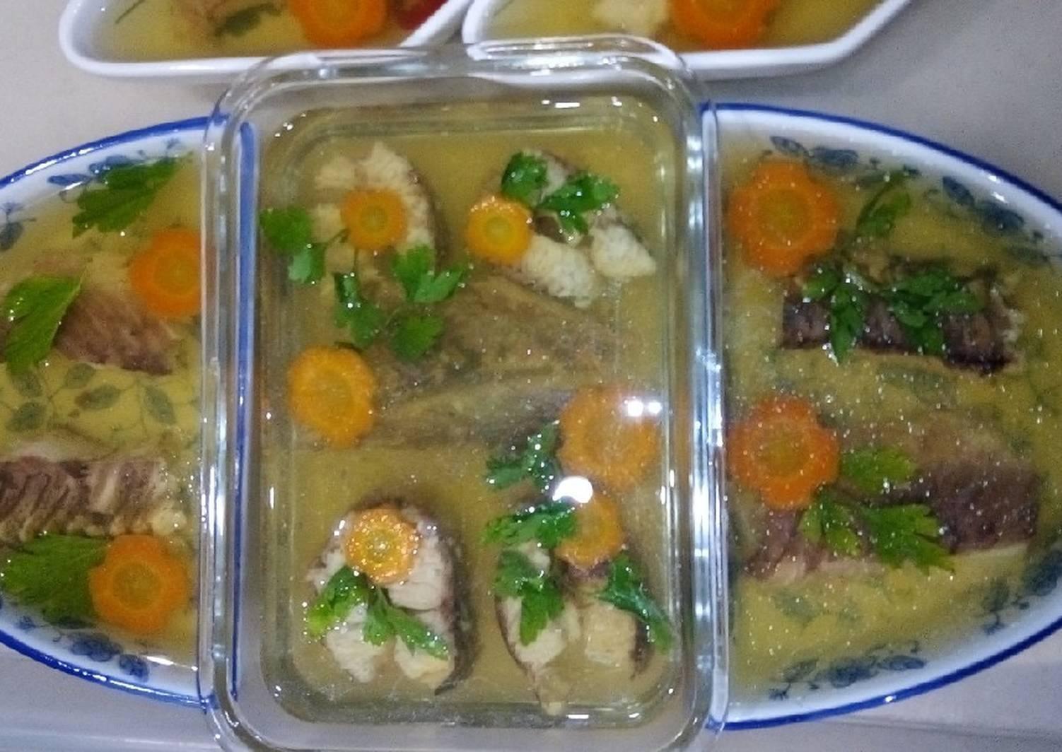 Как приготовить заливное из рыбы с желатином к праздничному столу – лучшие рецепты