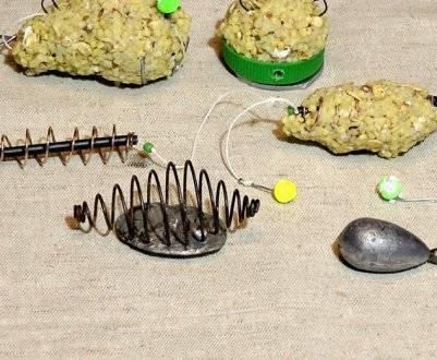 Каша для рыбалки на пружину