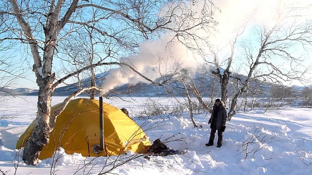 Обогрев палатки зимой на рыбалке без угара: как осуществить своими руками для ночной ловли, как сделать отопление газом, керосином и иным способом