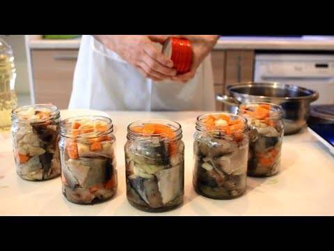 Рыбные консервы в домашних условиях: рецепты в автоклаве