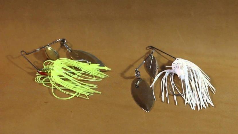 Лучшие недорогие и уловистые спиннербейты на щуку, окуня и судака своими руками