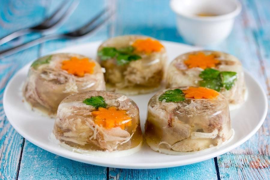 Заливное из щуки: пошаговые рецепты приготовления с фото