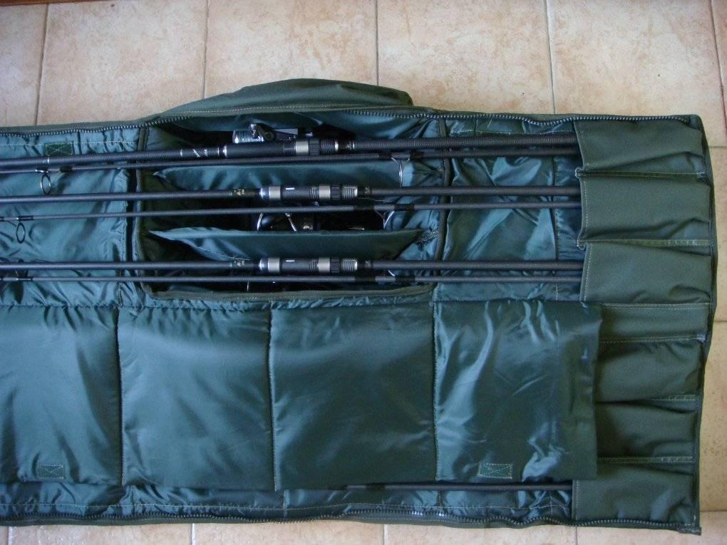 Чехол для удочек: как сделать футляр и сумку своими руками, преимущества самодельных изделий