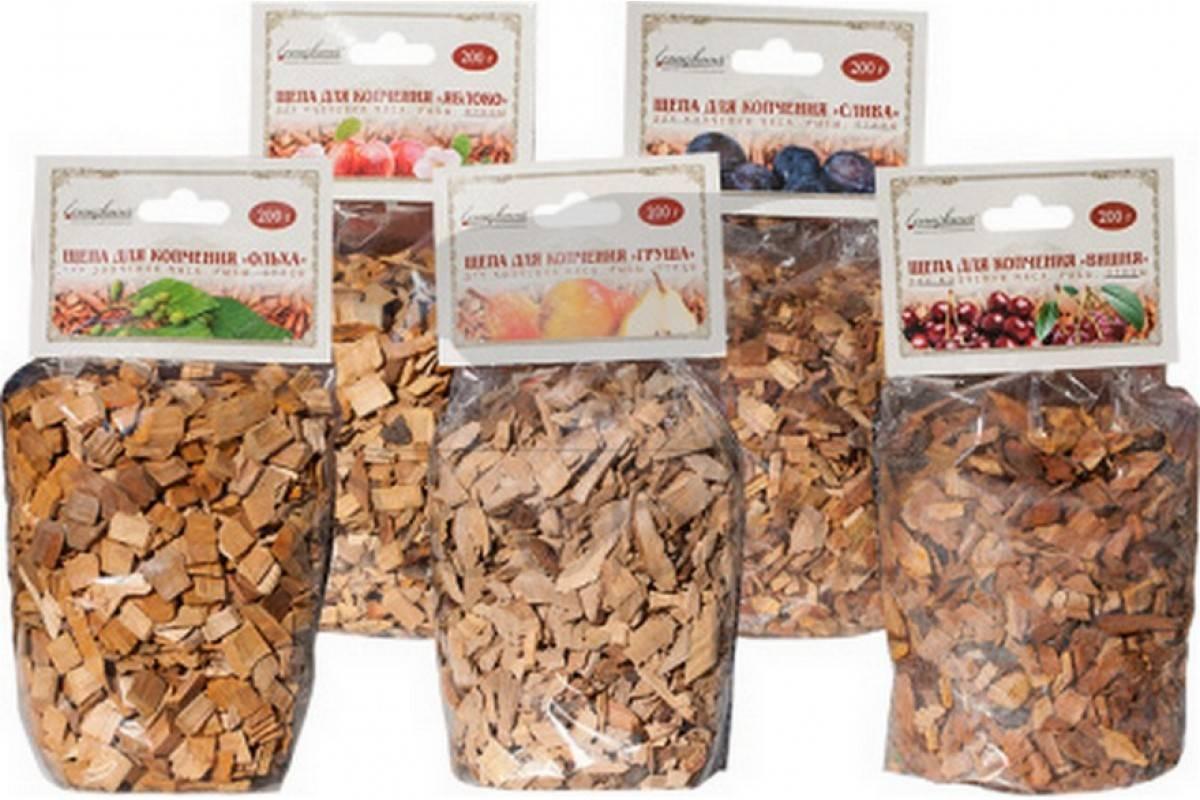 Виды щепы для копчения: свойства дубовой, ольховой, буковой, яблоневой и грушевой, какие качества она придает продуктам и какую лучше выбрать?