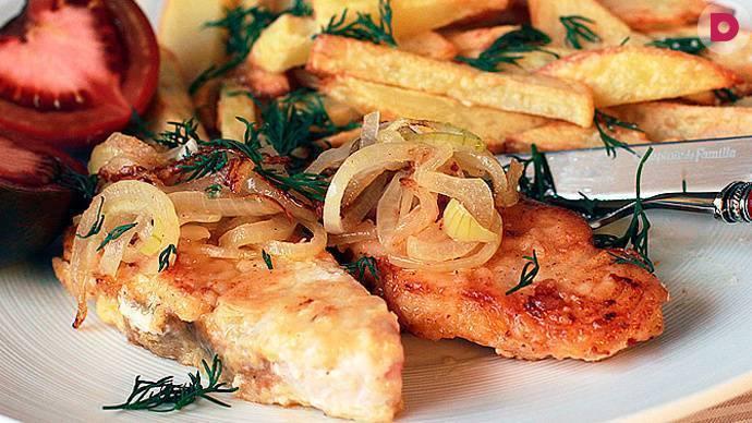 Линь в остром соусе / блюда из линя / tvcook: пошаговые рецепты с фото