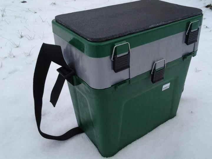 Ящик для зимней рыбалки