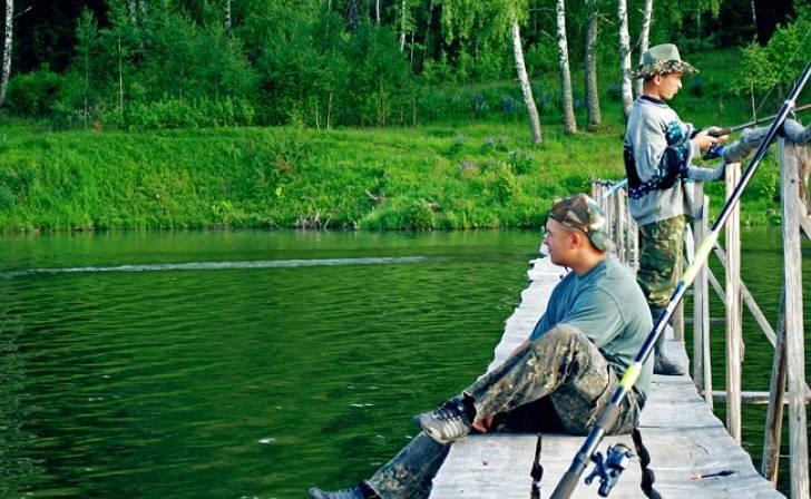 Летняя и зимняя рыбалка в орловской области: лучшие места