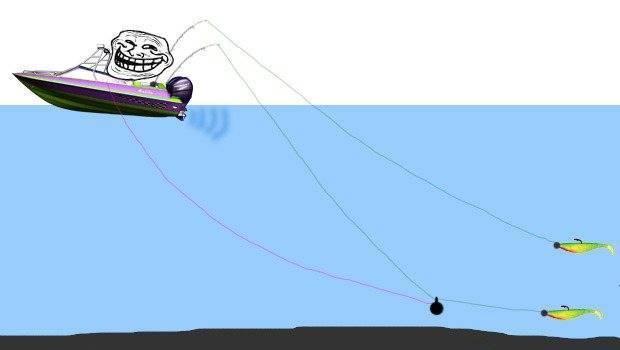 Рыбалка троллингом: техника ловли и подбор снастей с оборудованием