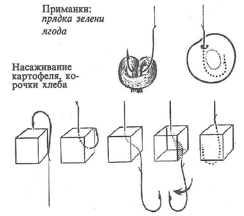 Как и какие макароны применяются при рыбалке?