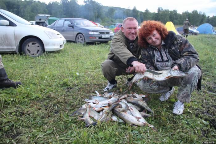Душевная рыбалка в заливе огур балахтинского района