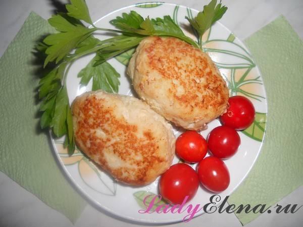 Котлеты из щуки и свинины с молоком и майонезом рецепт с фото - 1000.menu