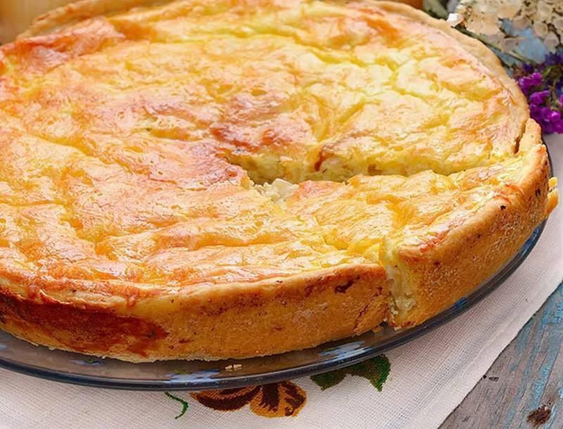 Заливной пирог с рыбными консервами - 9 рецептов с фото пошагово