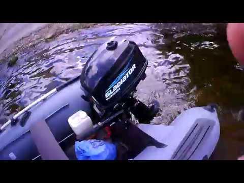 Как выполняется обкатка лодочного мотора?