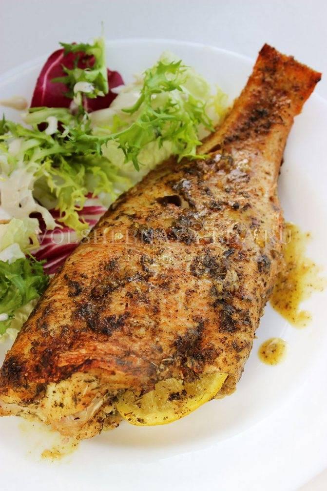 Рыба, запеченная в духовке целиком или филе - рецепты приготовления вкусных блюд с фото