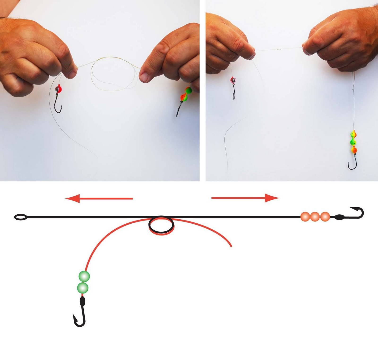 Поводок для спиннинга: как привязать к леске, способы сделать своими руками