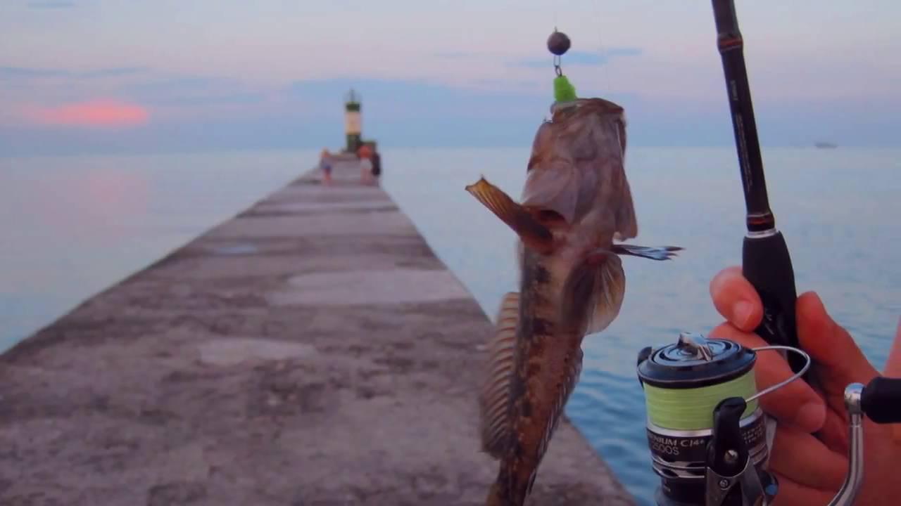 Ловля бычка на азовском море с берега и лодки