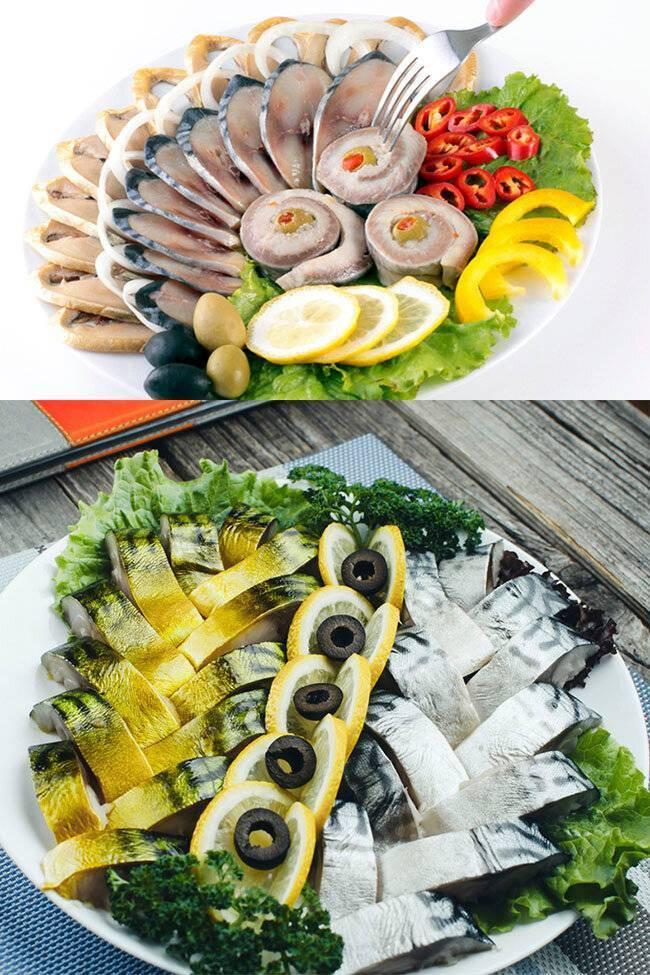 Рыбная нарезка на праздничный стол — фото, нарезка и оформление ассорти из рыбы