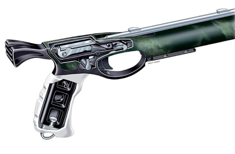 Ружье для подводной охоты своими руками: чертежи и руководство