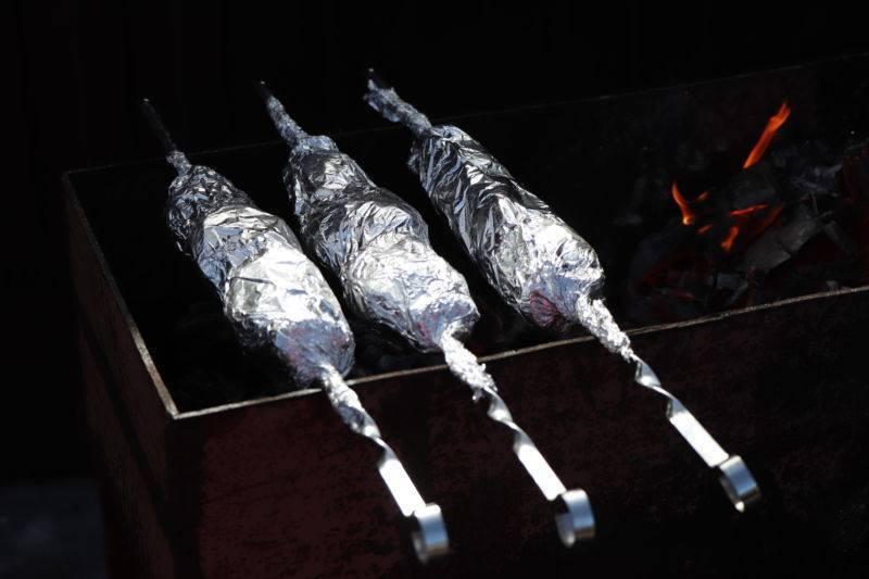 Судак на мангале: судак в фольге на углях и на решетке