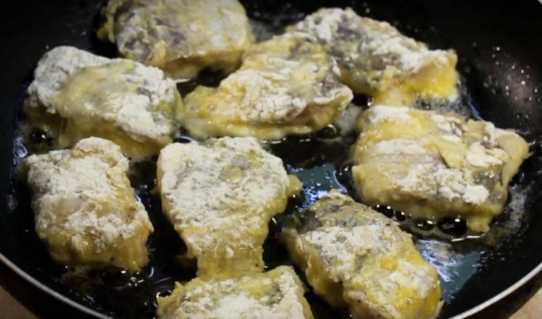 Камбала, жареная в яйце - рецепт с фотографиями - patee. рецепты