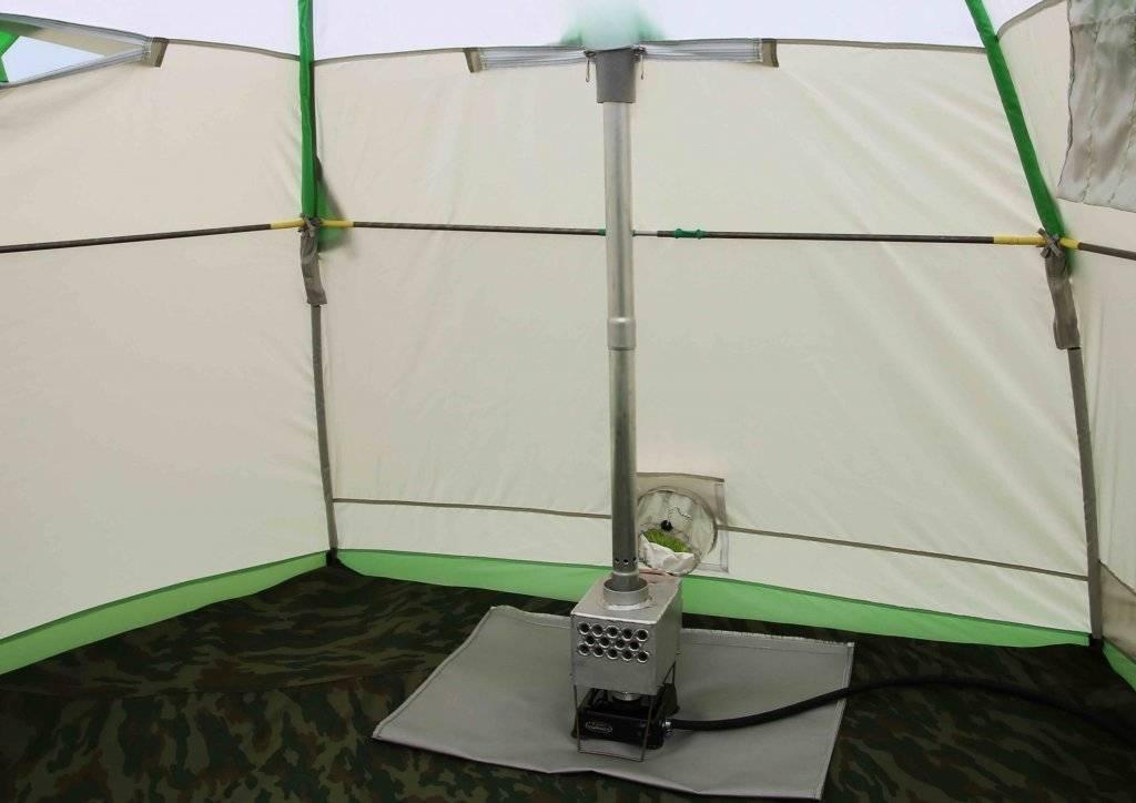 Зимняя палатка для рыбалки «лотос»: чем выделяется среди других