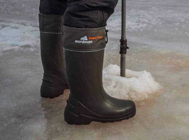 Зимние сапоги и ботинки для рыбалки и охоты: достоинства и недостатки, рекомендации по выбору обуви
