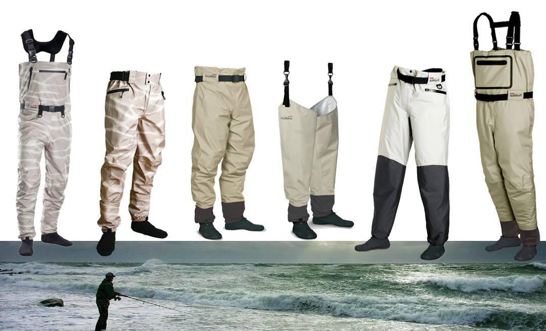 Вейдерсы для рыбалки: как выбрать, рейтинг лучших моделей для ловли