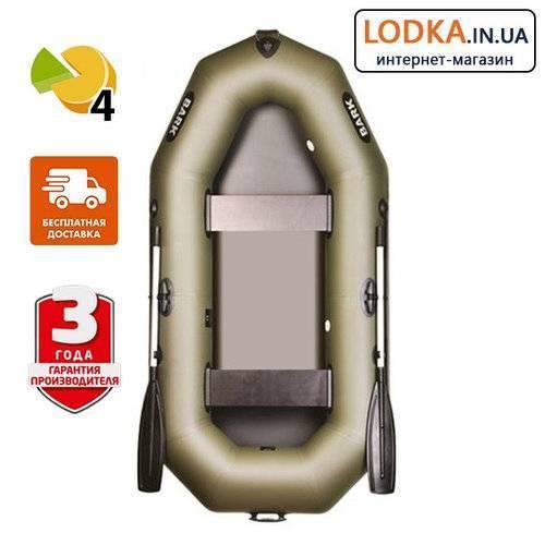 Обзор надувных лодок BARK