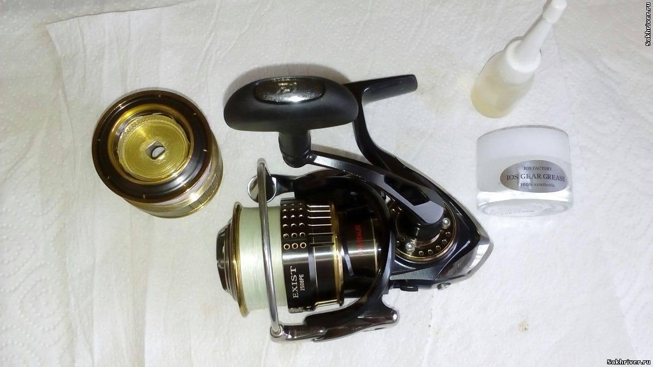 Чем смазать катушку для спиннинга в домашних - про рыбалку