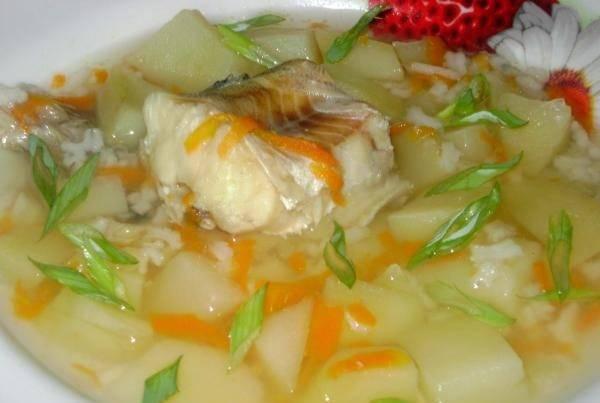 Суп рыбный из минтая
