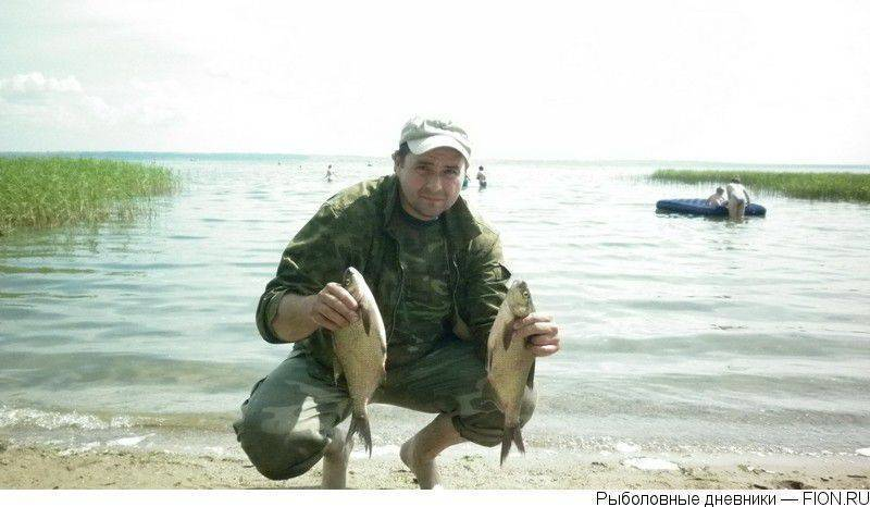 Рыбалка на плещеевом озере летом