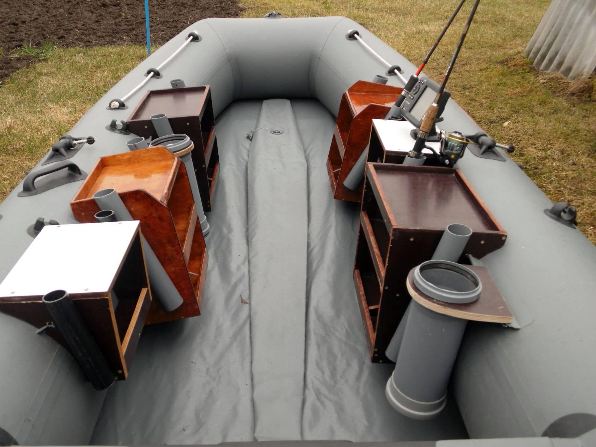 Как выполнить тюнинг лодок пвх с мотором своими руками