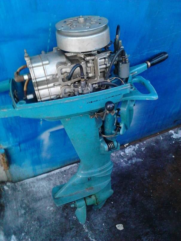 История создания подвесных лодочных моторов